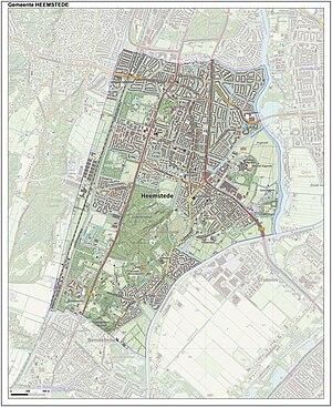 Heemstede - Image: Gem Heemstede Open Topo