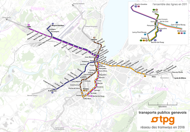 Tranvías Ginebra