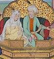 Genghis Khan and Börte.jpg