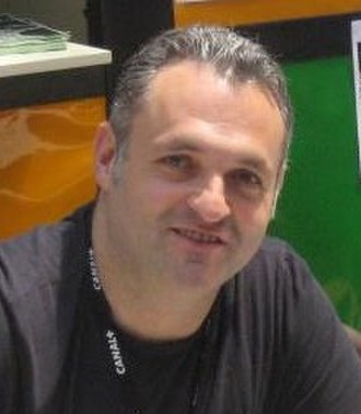 Genndy Tartakovsky - Tartakovsky in 2012 at AIAFF