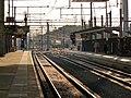 Gent-Sint-Pieters station in avondlicht 2018 1.jpg