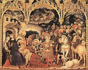 Adoration of the Magi (1423).