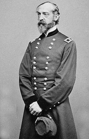 George Meade - Meade, portrait by Mathew Brady