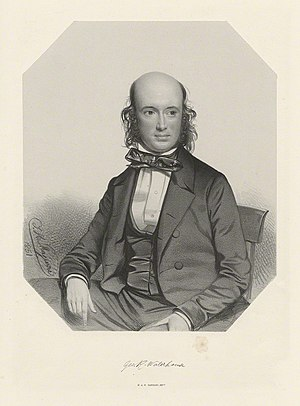 George Robert Waterhouse - Portrait c. 1851 by Thomas Herbert Maguire