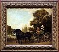 George stubbs, un nobiluomo porta una signora in un calesse, 1787.jpg