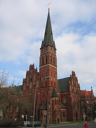 Pankow (locality) - Image: Georgskirche pankow