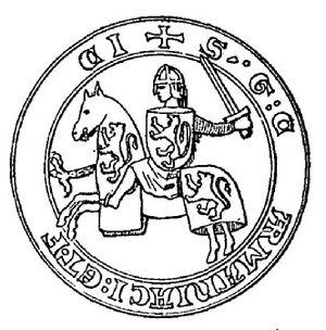 Gerald VI, Count of Armagnac - Seal of Gerald VI