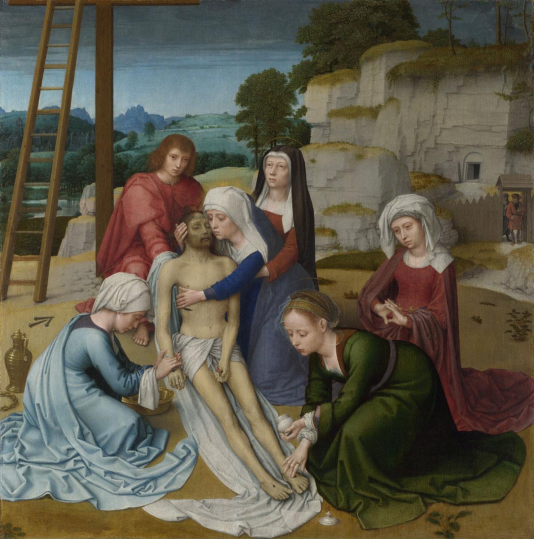 The Saviour Of The Century S End: Lamentation (Gerard David)