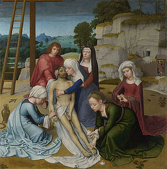 Gerard David - Image: Gerard David Lamentation Google Art Project