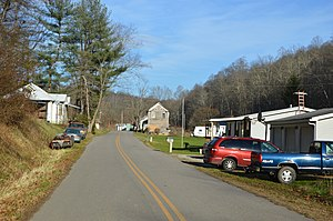 Germantown, Washington County, Ohio - Houses on Germantown Road