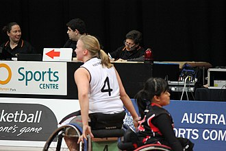Mareike Miller - Image: Germany women's national wheelchair basketball team 6880 03