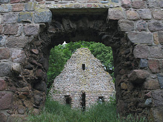 Gerswalde - Church ruin in Berkenlatten