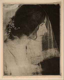 Gertrude Käsebier - The Bride - Google Art Project