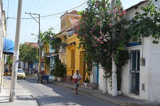 Getsemani Street, Cartagena, Colombia where to stay