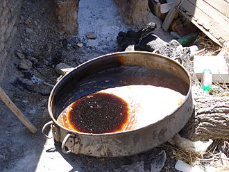 Extract - Traditional extraction pot in Iran