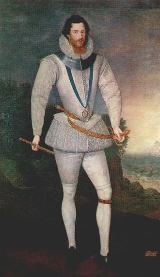 Marcus Gheeraerts the Younger - Robert Devereux, Earl of Essex, 1596