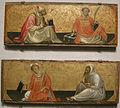 Gherardo starnina, un vescovo e san lorenzo, santo stefano e san bruno, 1404-07 ca..JPG