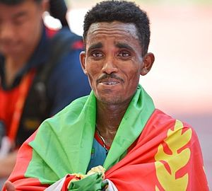 Ghirmay Ghebreslassie - Ghebreslassie in 2015