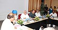 Ghulam Nabi Azad, the Union Minister for Human Resource Development, Shri Kapil Sibal, the Union Minister for Rural Development and Panchayati Raj, Dr. C.P. Joshi, the Deputy Chairman, Planning Commission (1).jpg