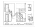 Giddings Tavern, 37 Park and Summers Streets, Exeter, Rockingham County, NH HABS NH,8-EX,7- (sheet 15 of 25).png