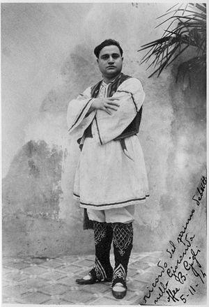 Beniamino Gigli - Image: Gigli Gioconda 1914