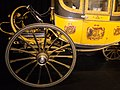Gilded wheels on ducal carriage (26291226280).jpg