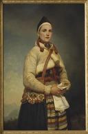 Girl from Dalarna (Gottfrid Virgin) - Nationalmuseum - 18254.tif