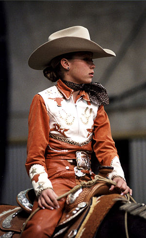 Western pleasure - Competitor attire