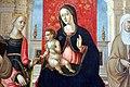 Girolamo di benvenuto, sposalizio mistico di s. caterina tra santi, 1515-20 (mi, bagatti valsecchi) 03.jpg