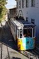 Glória Funicular Railway Car, Lisbon (23036959190).jpg