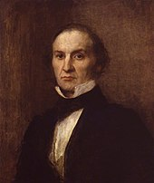 A middle-aged man in Victorian clothes