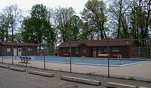 National Register of Historic Places listings in Pierce County, Wisconsin - Image: Glen Park Municipal Swimming Pool 1