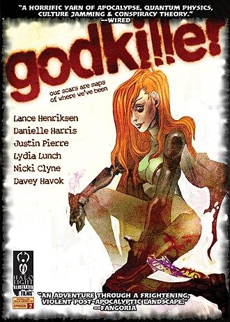 Godkiller - Godkiller: Walk Among Us shortform episode-2 DVD cover (2010)
