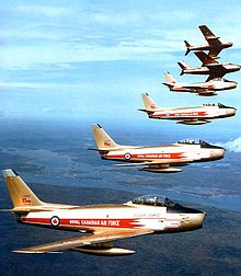 CANADIAN FORCE AIR EXERCISES