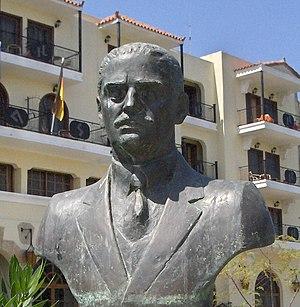 Dimitrios Golemis - Statue of Dimitrios Golemis in Lefkada