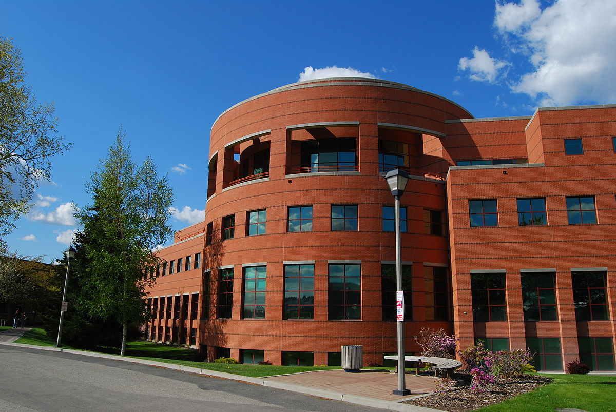A picture of Foley Library