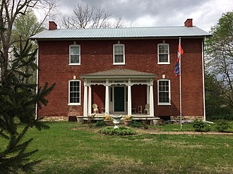 National Register of Historic Places listings in Lafayette County, Missouri - Image: Gosewisch Fuenfhausen House