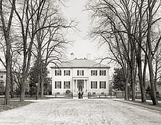 Governor of Virginia - The Governor's Mansion in Virginia, 1905