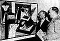 Governor of New South Wales Sir John Northcott and the French Ambassador Louis Roche at French Painting Today, Sydney 1953.JPG