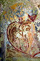 Grafenstein Skarbin Waldweg Felsbildstockmalerei linke Haelfte 0404102007 93.jpg