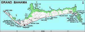 Eight Mile Rock - Image: Grand Bahama