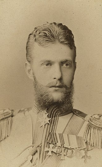 Grand Duke Sergei Alexandrovich of Russia - Grand duke Sergei Alexandrovich in his youth