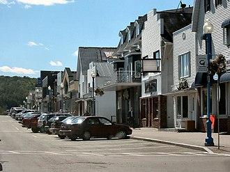 Grand Falls, New Brunswick - Image: Grand Falls NB downtown