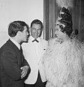 Grand Gala du Disque in Concertgebouw Uitreiking Edisons vlnr Adamo, Lou v, Bestanddeelnr 916-9670.jpg