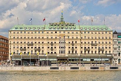 Vägbeskrivningar till Grand Hôtel Stockholm med kollektivtrafik