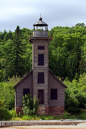 Grand Island East Channel Light - Grand Island East Channel light in 2009