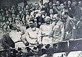 Grand Prix de l'ACF 1939, G. à D. Müller, Le Bègue, Étancelin, le ministre de la justice Marchandeau, et le président de l'ACF de Rohan.jpg
