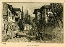 Grande rue de Nicomédie - Texier Charles Félix Marie - 1882.jpg