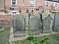 Graves at St Mary de Crypt Church, Gloucester.JPG