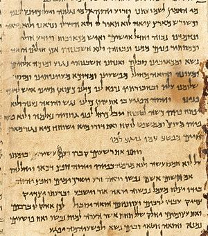 Isaiah 53 - Image: Great Isaiah Scroll Ch 53